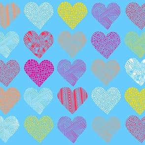 My heart is so blue