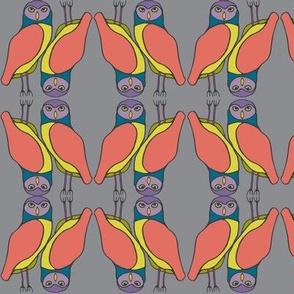 burrowing owls in gemtones