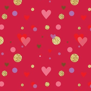 Heart of Gold - Valentine Glitter