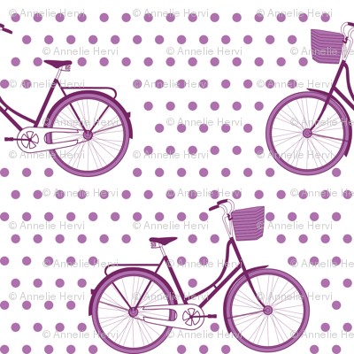 Orchid Bicycle Polka