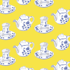 Teapots Yellow