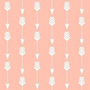 Arrow in Soft Peach