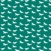 Unicorn Stampede Teal