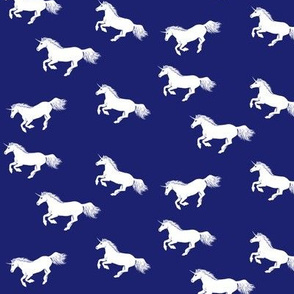 Unicorn Stampede Navy