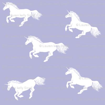 Unicorn Stampede Lavender