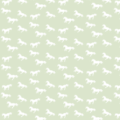 Unicorn Stampede Regency Green