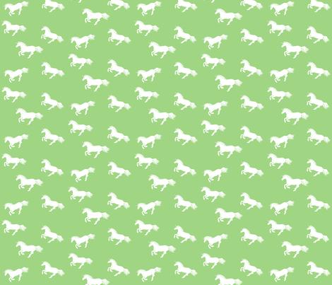 Unicorn Stampede Apple fabric by thistleandfox on Spoonflower - custom fabric
