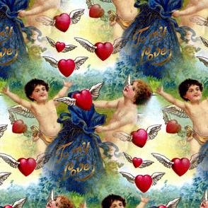 Vintage Valentine Cherubs