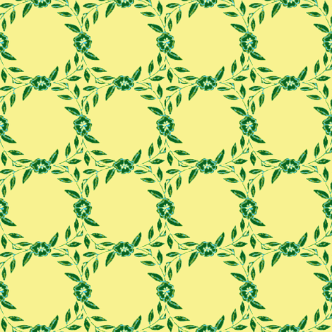 Garland  fabric by amyvail on Spoonflower - custom fabric
