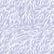 FUR White on Lavender