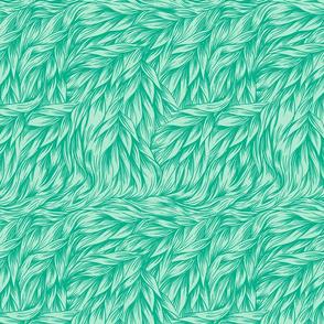 FUR Sea Green
