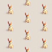Bunny No. 6 Orange Ecru