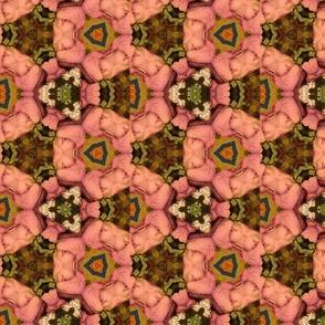 Rose petal motif