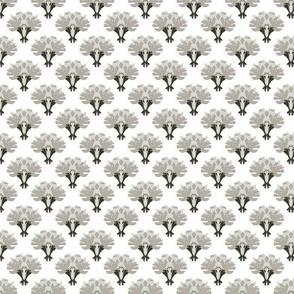 Brooch Vase -- in shades of grey