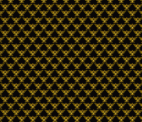 Triforce fabric by phoenixrai on Spoonflower - custom fabric
