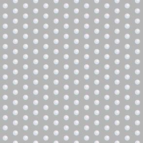 Pearl Polka Dot - medium scale