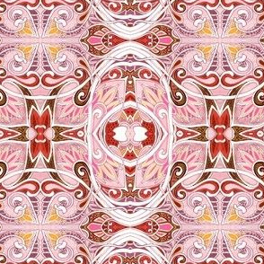 Heart and Paisley Tangle