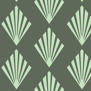 Art Deco Green