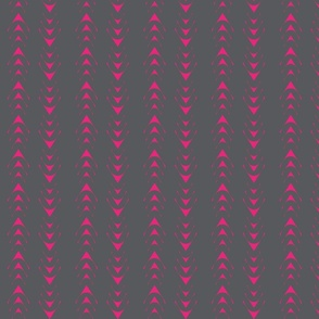 Gray/Pink Geometric