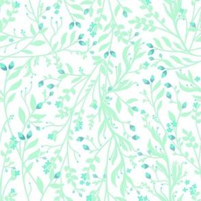 Tangled Garden Vine in Mint