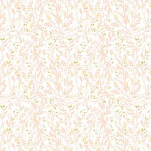 Floral Vine Peach
