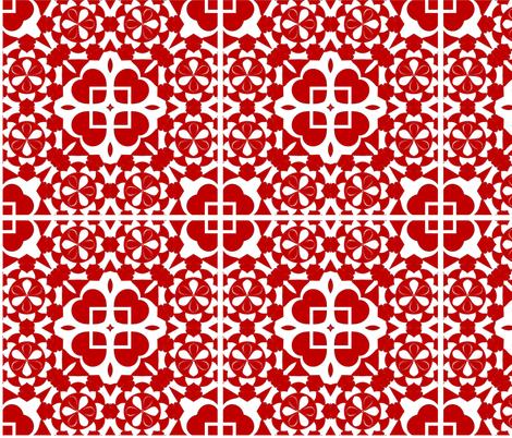 CJC Chinese Papercut fabric by carla_joy on Spoonflower - custom fabric