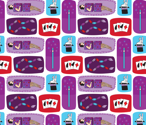 magic fabric by ccapone on Spoonflower - custom fabric