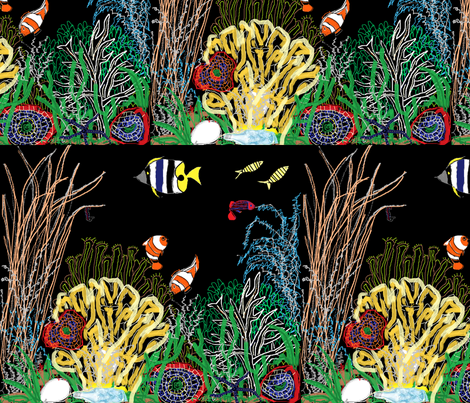 coral_reef fabric by arvil on Spoonflower - custom fabric