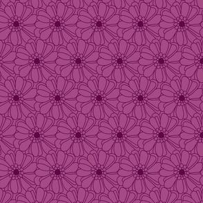 Purple Marigolds
