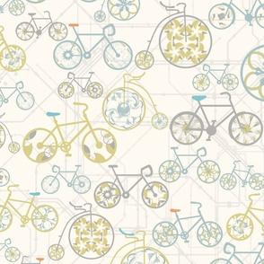 Ride a geometric bicycle