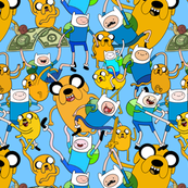 finn and jake!