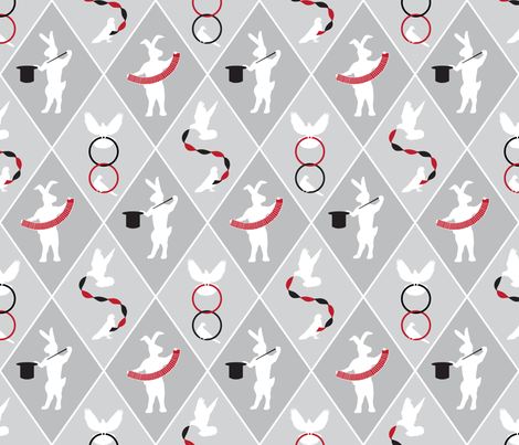 The_Magic_Show fabric by aalk on Spoonflower - custom fabric