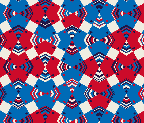 Misdirection fabric by jillodesigns on Spoonflower - custom fabric