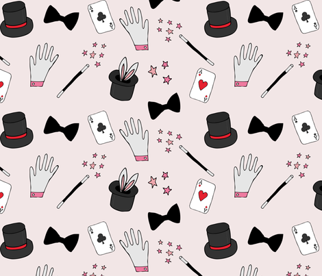 Magic Show fabric by abbyg on Spoonflower - custom fabric