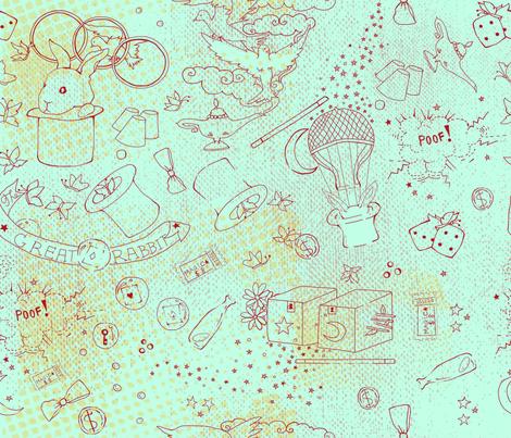 magic_show fabric by cibelle on Spoonflower - custom fabric