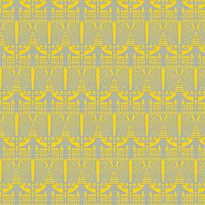 deco angles grey on freesia