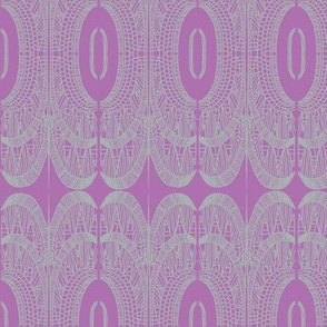 deco empire grey on orchid