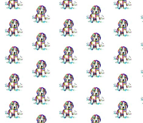 Rbeagle_painting_fabric_2_shop_preview
