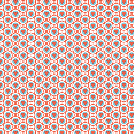 Queen of Hearts fabric by pennycandy on Spoonflower - custom fabric