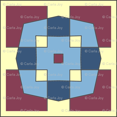 CJC Quilt Color Block