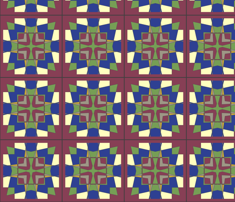 CJC Quilt Architect fabric by carla_joy on Spoonflower - custom fabric
