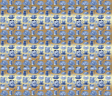 Have_a_nice_cuppa fabric by mammajamma on Spoonflower - custom fabric
