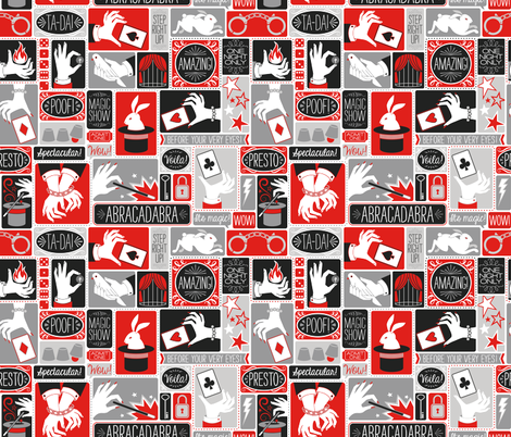 Magic Show fabric by k80horn on Spoonflower - custom fabric