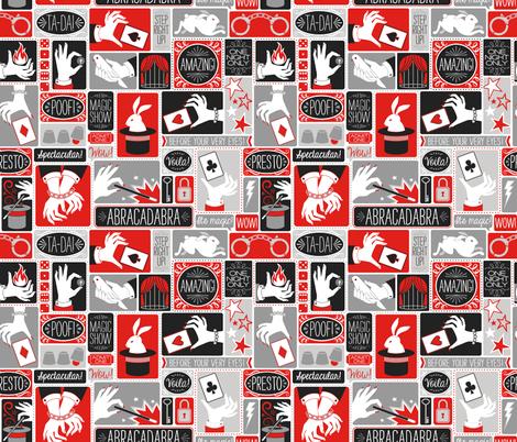Magic Show fabric by k80horn on Spoonflower - custom fabric