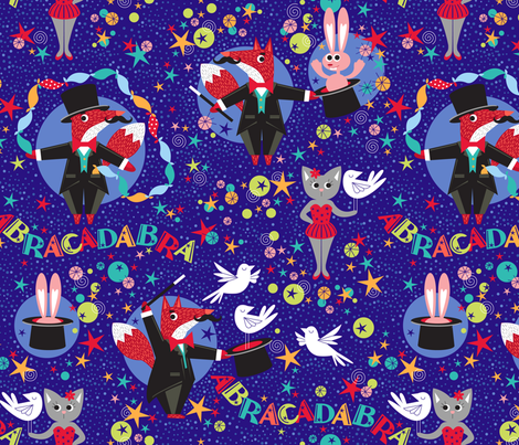 abracadabra fabric by cjldesigns on Spoonflower - custom fabric