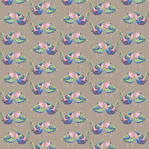 Stitch a Bird on It Taupe