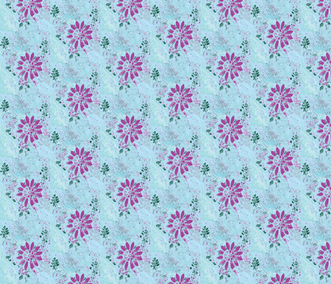 Shasta Daisies fabric by red_gate_designs on Spoonflower - custom fabric