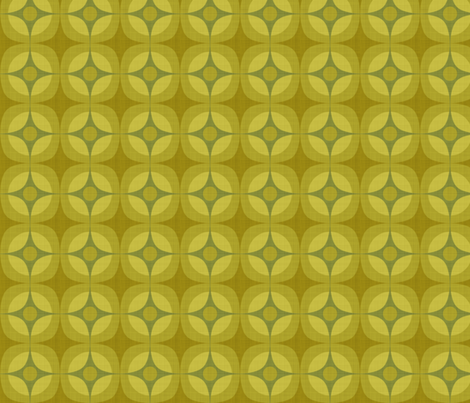 Reef Linen. Alga fabric by spellstone on Spoonflower - custom fabric