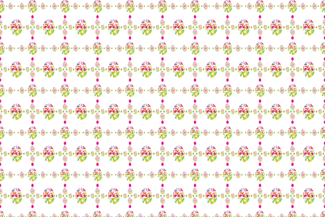 easter egg march fabric by baleandtwine on Spoonflower - custom fabric