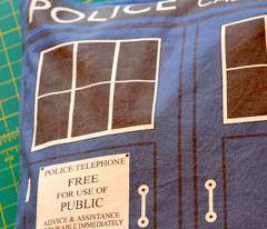 Tardis Pillow Case